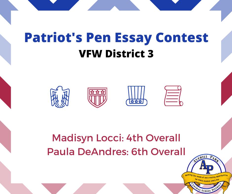 Vfw essay contest